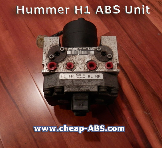Hummer Land rover wabco abs light fix three amigos